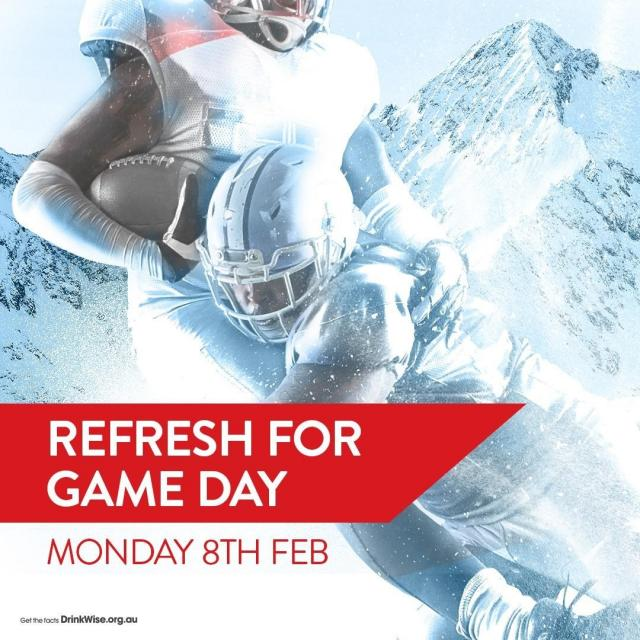 It's GAME DAY! Refresh with a super cold Coors.