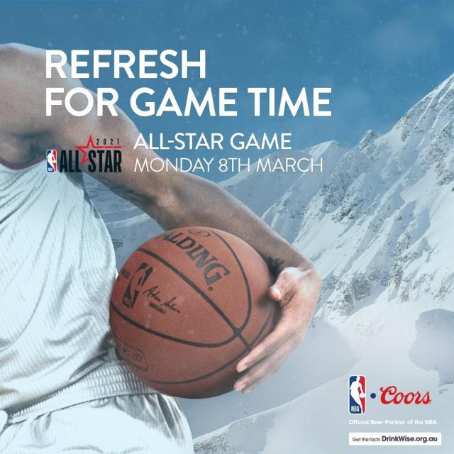 East or West? Will missing captain Durant mean a walkover for Team Lebron or does the East have an upset in them? Tune in on Monday to find out.  #Refreshforgametime #coors